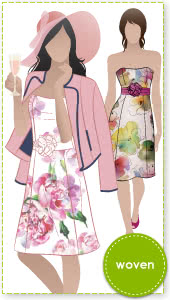 Donna Dress Sewing Pattern By Style Arc - A versatile dress suitable for many occasions