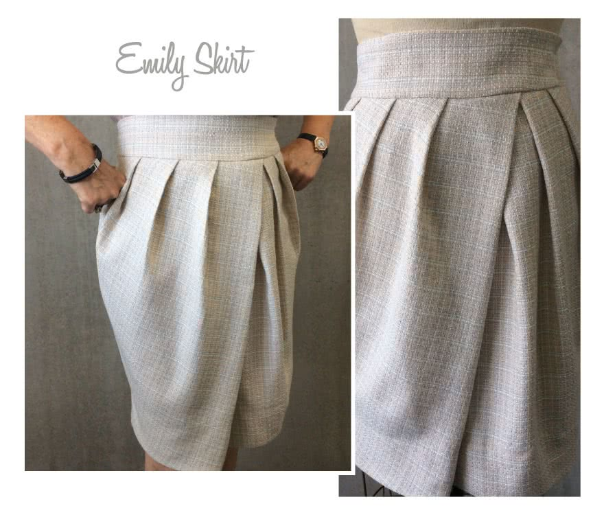 Emily Skirt Sewing Pattern By Style Arc