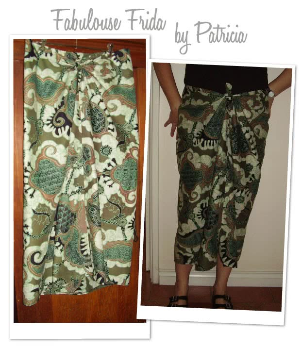 Fabulous Freda Sewing Pattern By Patricia And Style Arc - Summer dress, beach sarong & bathroom wrap in one