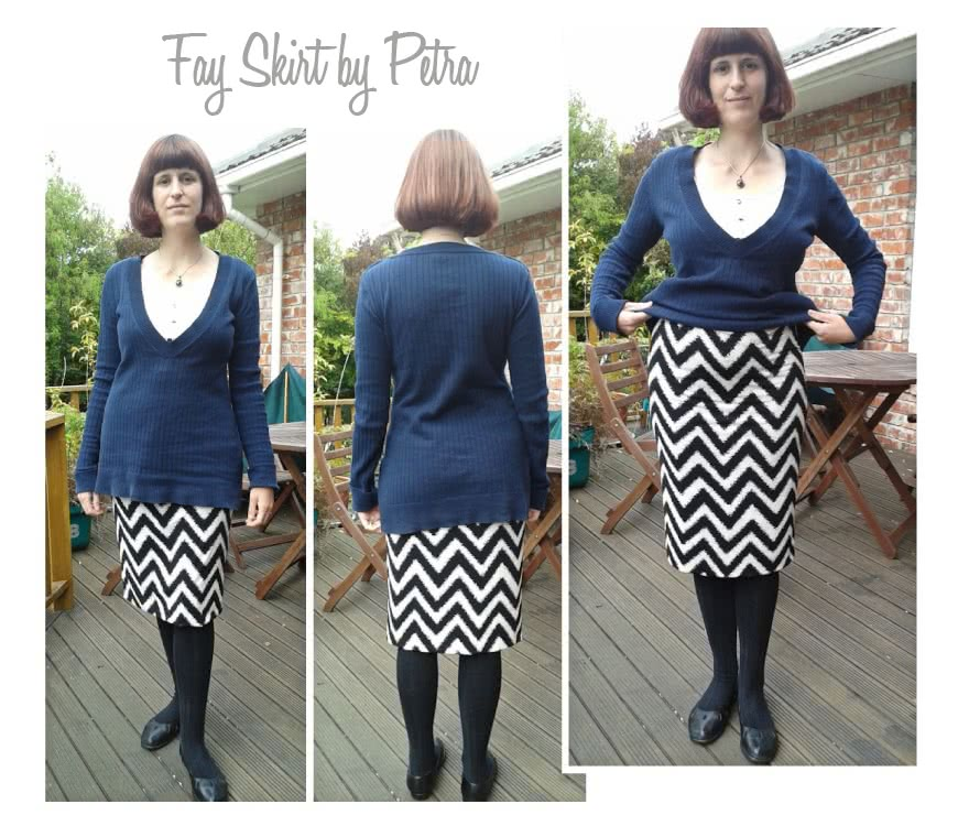 Fay Skirt Sewing Pattern By Petra And Style Arc - Figure hugging pull-on one piece skirt