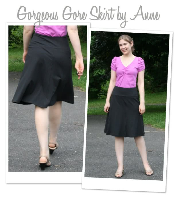 Gorgeous Gore Skirt Sewing Pattern By Anne And Style Arc