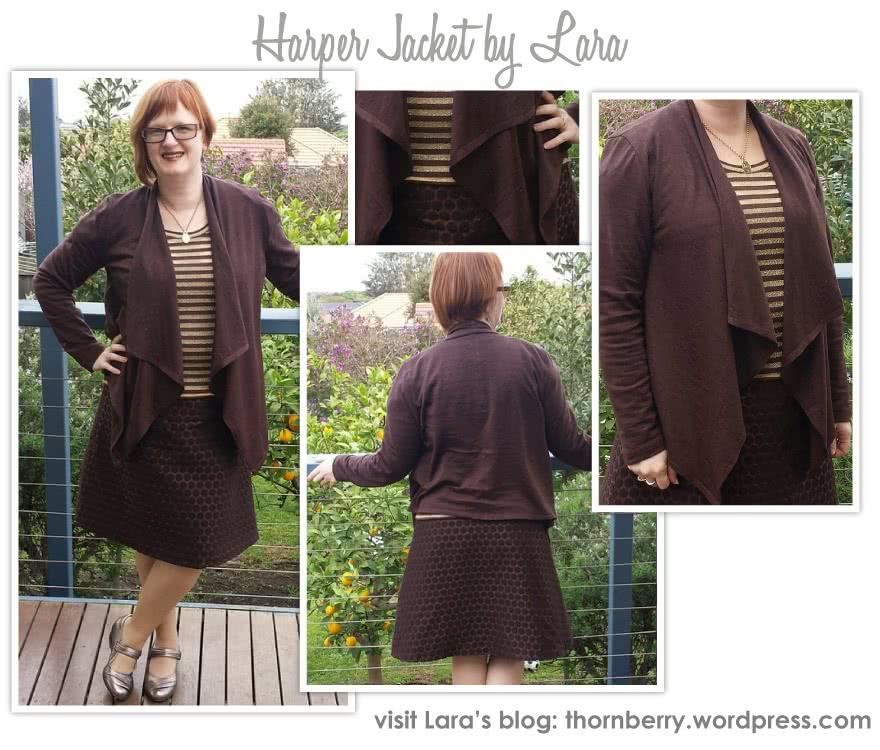 Harper Jacket Sewing Pattern By Lara And Style Arc