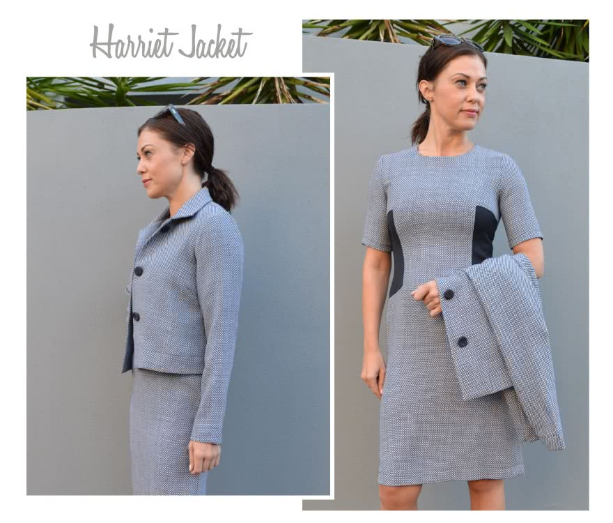 Harriet Jacket Sewing Pattern By Style Arc