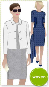 Harriet Jacket + Renae Dress Outfit Sewing Pattern Bundle By Style Arc - Harriet Jacket + Renae Dress bundle outfit