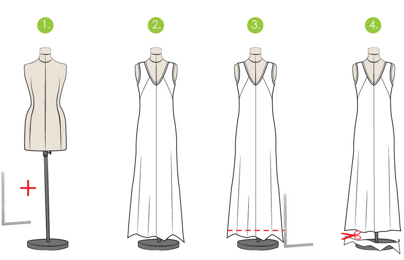 How to Level a Dress or Skirt