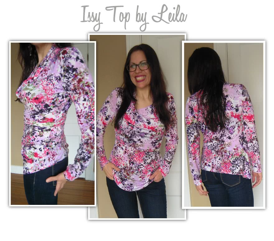 Issy Knit Top Sewing Pattern By Leila And Style Arc