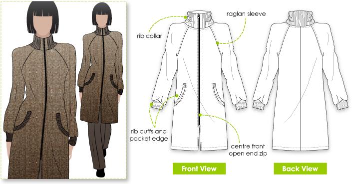 Jacqui Coat – Style Arc