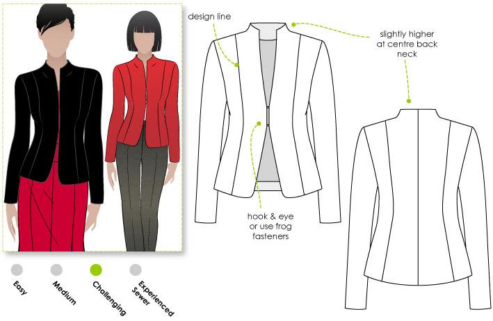 Janet Jacket – Style Arc