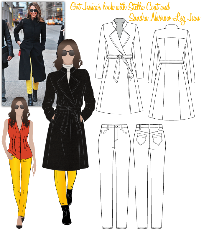 Jessica's Look No.2 Sewing Pattern Bundle By Style Arc
