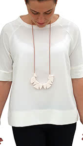 Jigsaw Statement Necklace Fashion Accessory By Style Arc - Gorgeous statement necklace by Style Arc. FREE GLOBAL SHIPPING!
