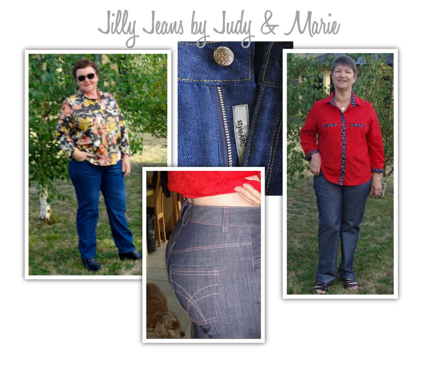 Jilly Jean Sewing Pattern By Judy And Style Arc - A must-have stretch denim basic jean