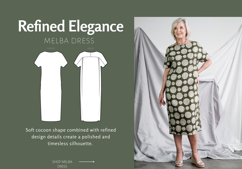 Melba Dress Sewing Pattern