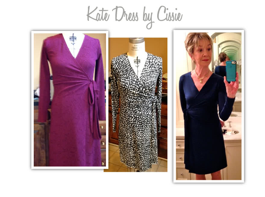 Kate Dress Sewing Pattern By Cissie And Style Arc - Fabulous & flattering wrap dress