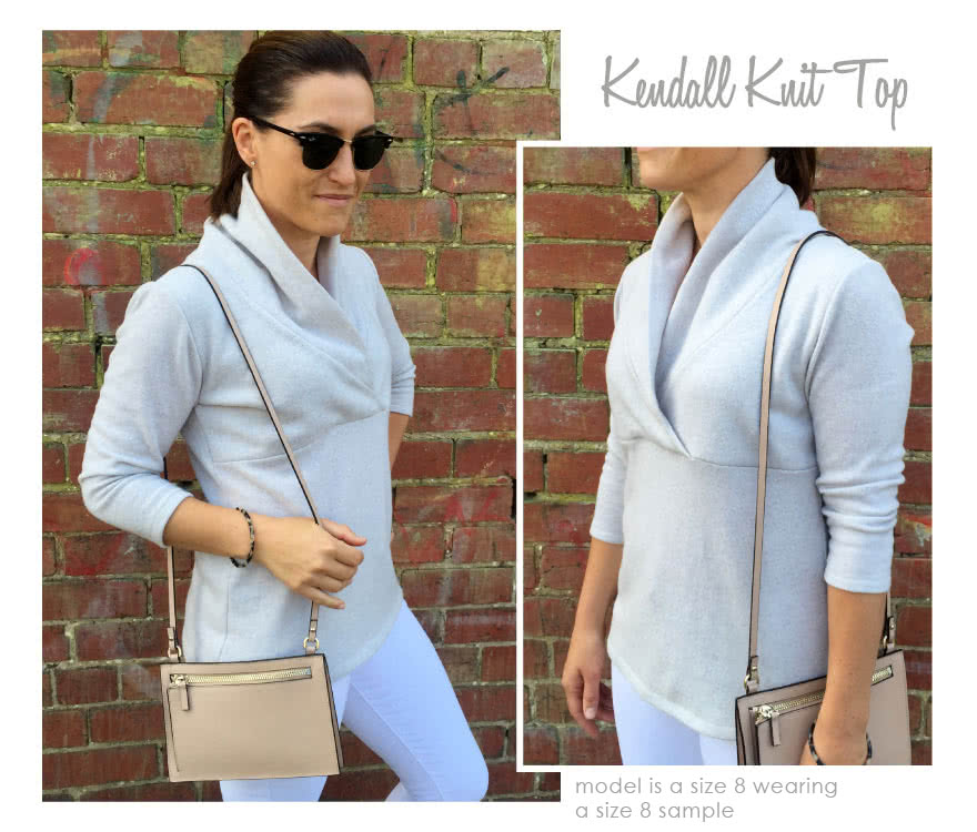 Kendall Knit Top Sewing Pattern By Style Arc