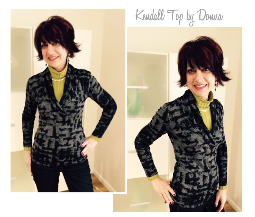 Kendall Knit Top Sewing Pattern By Donna And Style Arc