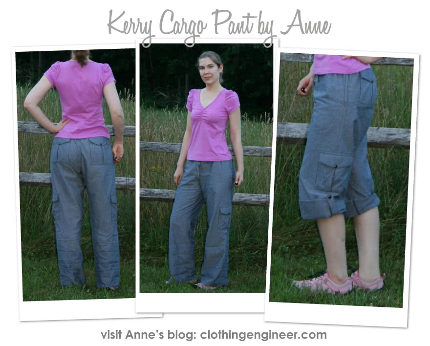 Kerry Cargo Pant Sewing Pattern By Anne And Style Arc