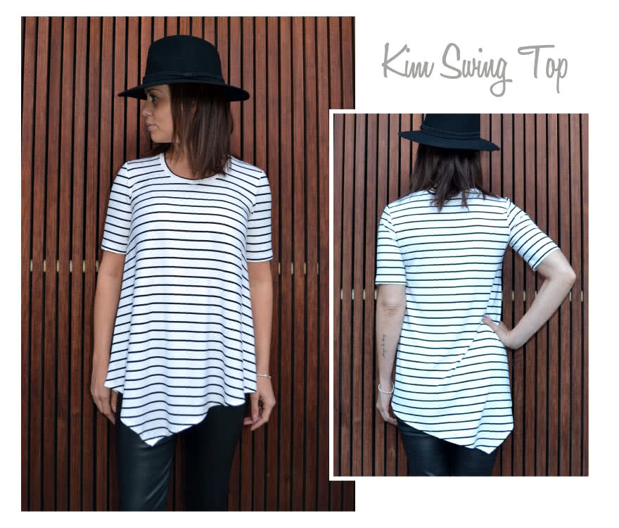 Kim Swing Top Sewing Pattern By Style Arc