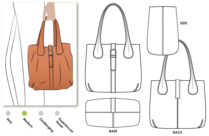 London Tote Bag – Style Arc