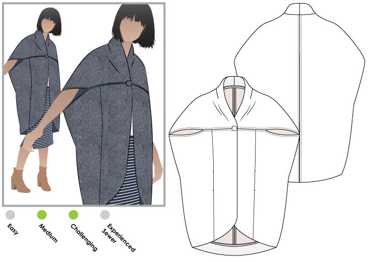 Lux Coat – Style Arc