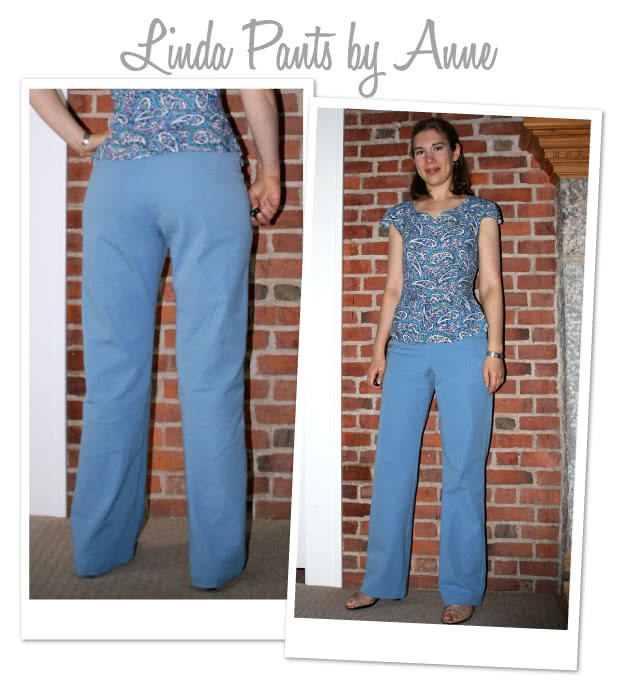 Linda Stretch Pant Sewing Pattern By Anne And Style Arc
