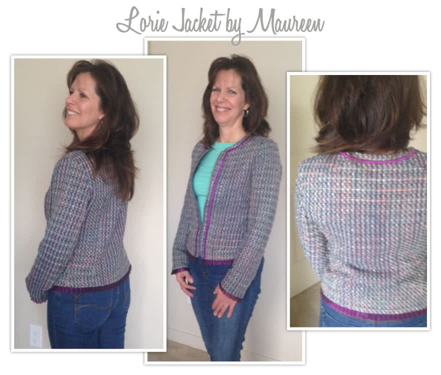 Lorie Jacket Sewing Pattern By Maureen And Style Arc - Designer look without the complication!