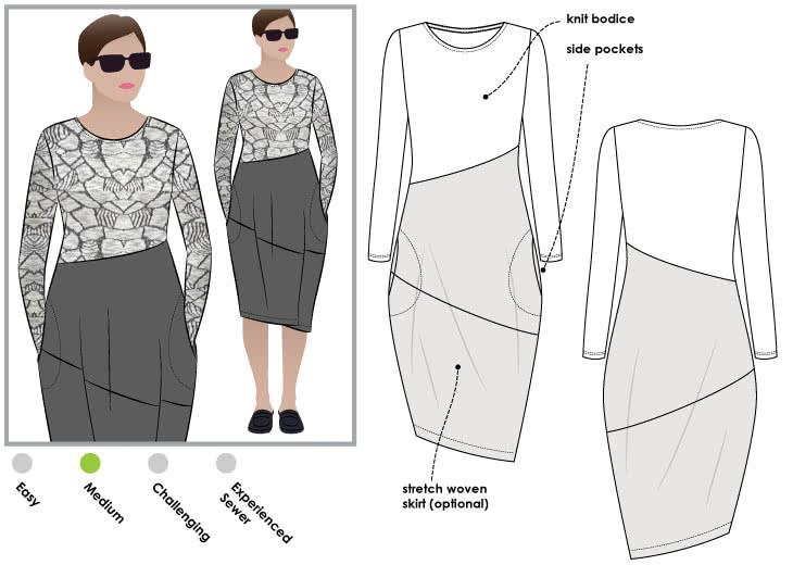 Maisie Designer Dress – Style Arc