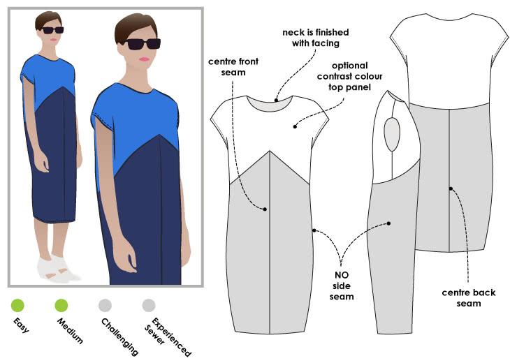 Mila Designer Dress – Style Arc