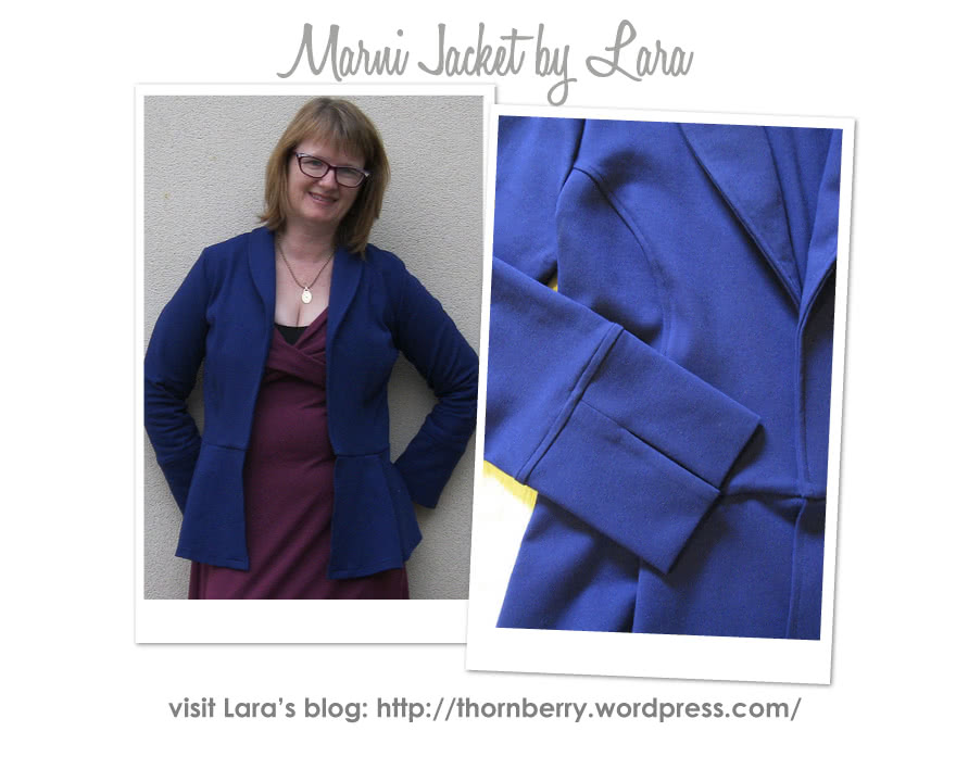 Marni Ponti Jacket Sewing Pattern By Lara And Style Arc - Peplum style knit jacket