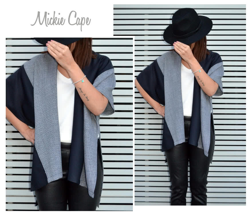 Mickie Cape Sewing Pattern By Style Arc
