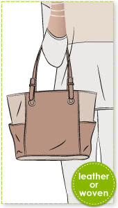 New York Tote Bag Sewing Pattern By Style Arc - This is the iconic tote bag