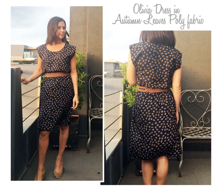 Olivia Dress Sewing Pattern By Style Arc