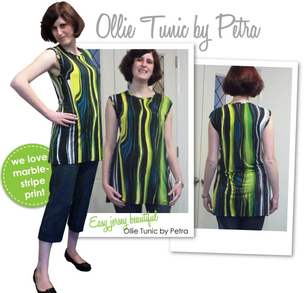 Ollie Tunic Sewing Pattern By Petra And Style Arc - Quick & simple over tunic