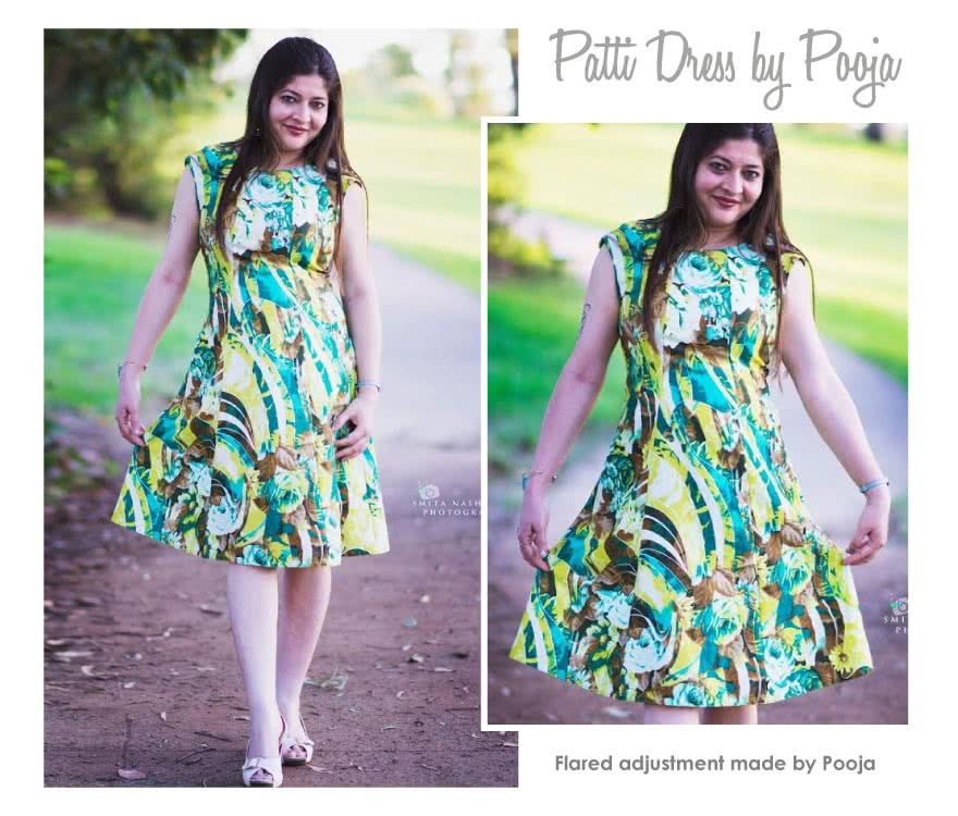Patti Woven Dress Sewing Pattern By Pooja And Style Arc