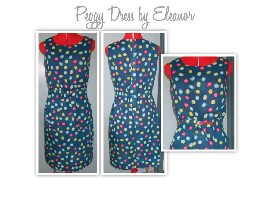 Peggy Woven Dress Sewing Pattern By Eleanor And Style Arc - Versatile dress - great for work.