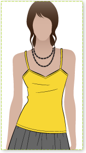 Penny Top Sewing Pattern By Style Arc - Singlet top