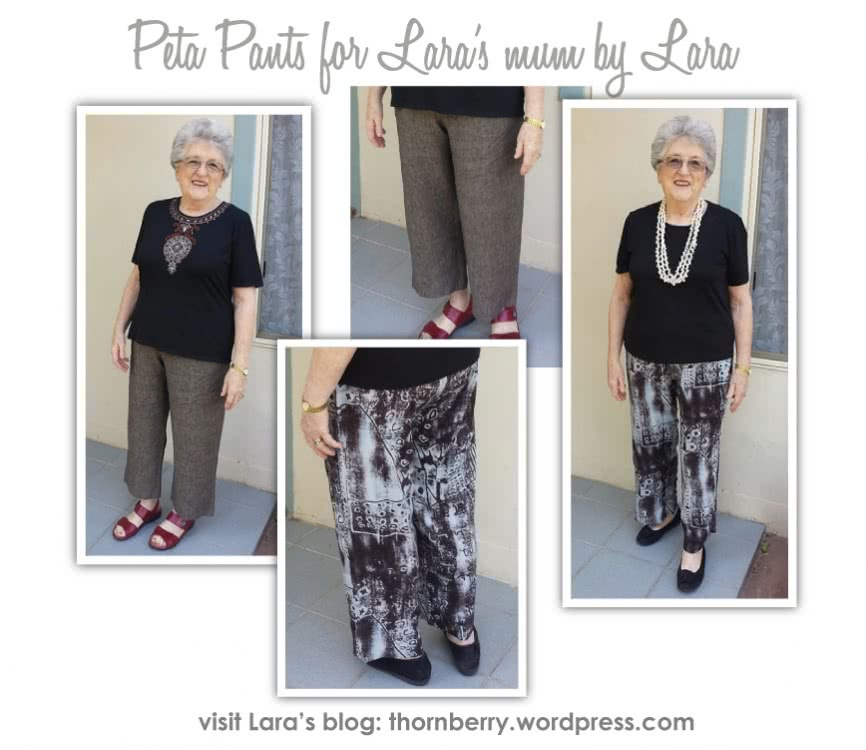 Peta Pant Sewing Pattern By Style Arc