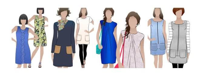 Shift Dress Pattern - A Style Arc Classic