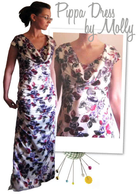 Pippa's Dress Sewing Pattern By Molly And Style Arc - Pippa's bridesmates dress from the Royal wedding