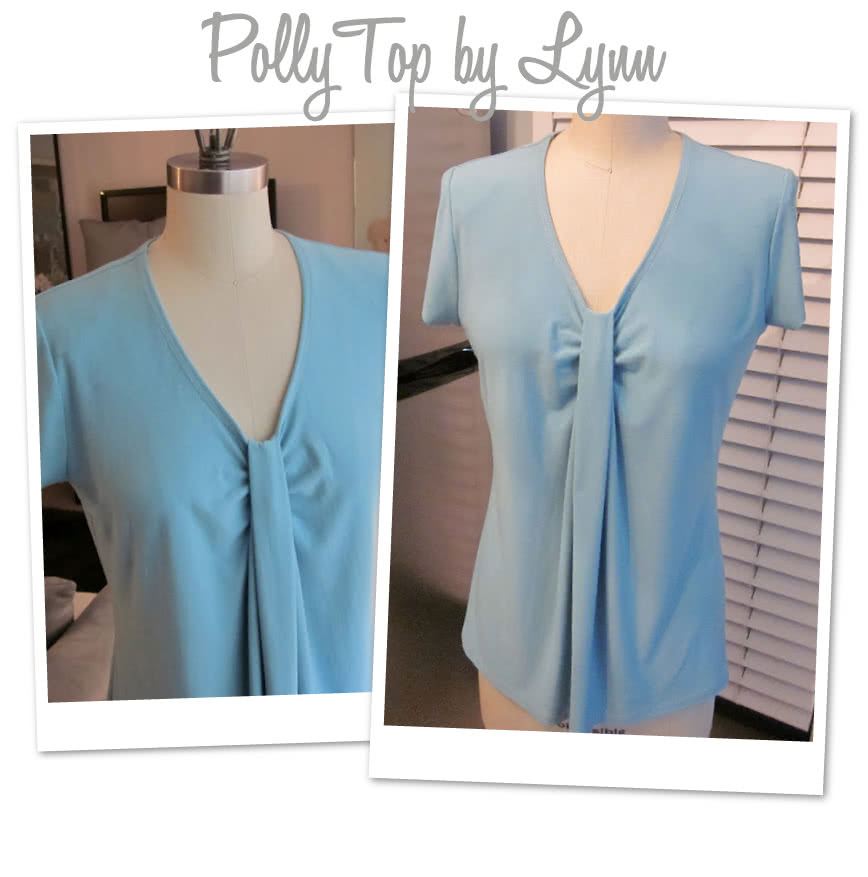 Polly Top Sewing Pattern By Lynn And Style Arc - Latest trend double pleat front top
