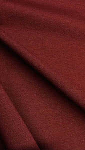 Ponte Knit In Wine Fabric By Style Arc - Ponte de Roma knit fabric in wine.
