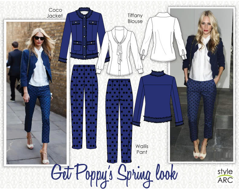 Celebrity Style Sewing Patterns - May 2014 - Poppy