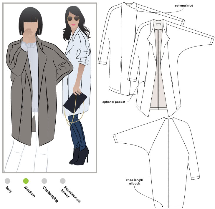 Riley Coat – Style Arc