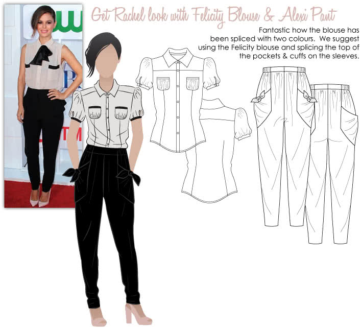 Rachel's Evening Look Sewing Pattern Bundle By Style Arc