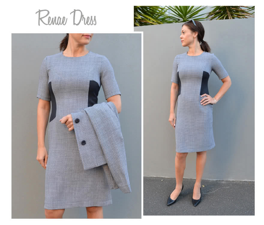 Renae Woven Dress Sewing Pattern By Style Arc
