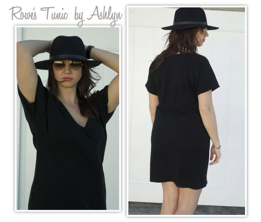 Rowe's Tunic / Top Sewing Pattern By Ashlyn And Style Arc