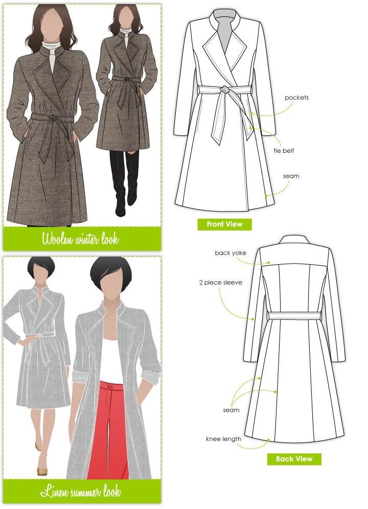 Stella Coat Style Arc Amazing Coat Pattern