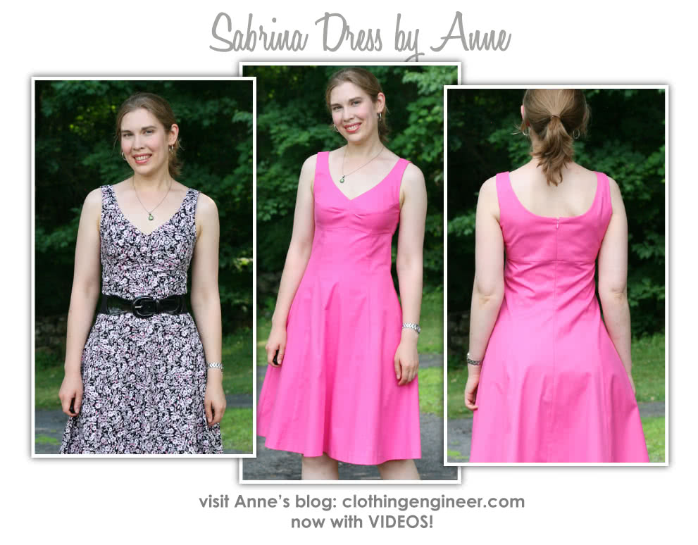 Sabrina Dress Sewing Pattern By Anne And Style Arc