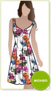 Sabrina Dress Sewing Pattern By Style Arc - Vintage style sundress