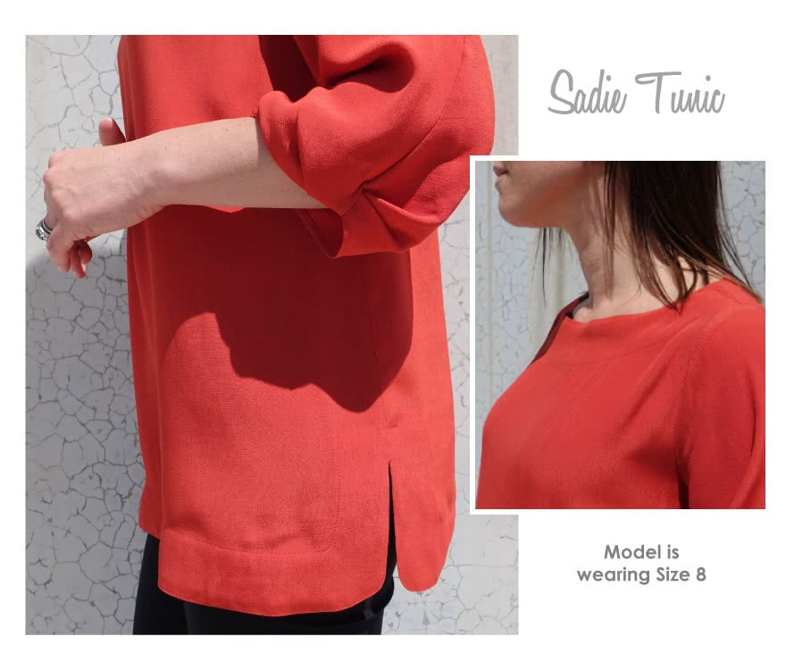Sadie Tunic Sewing Pattern By Style Arc