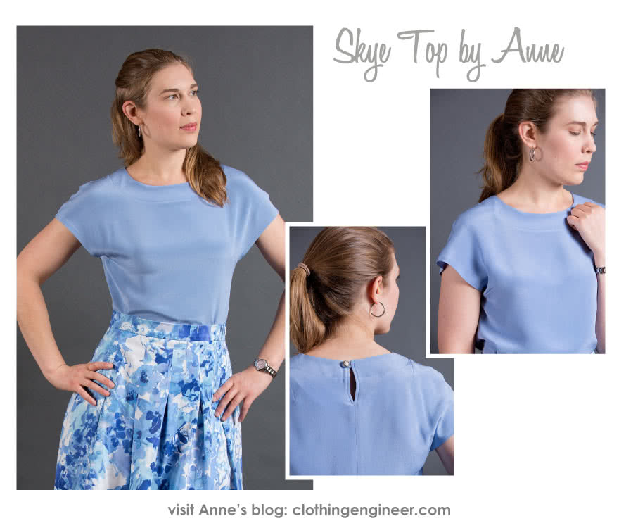Skye Top Sewing Pattern By Anne And Style Arc - A fashionable top for every body